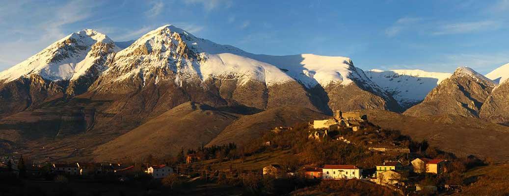 Monti Velino e Cafornia (A. Sansoni)