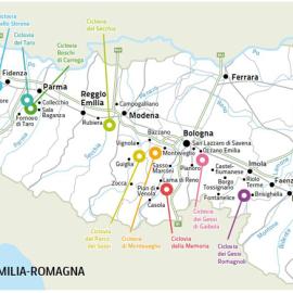 10 nuove ciclovie tra i Parchi dell'Emilia Romagna