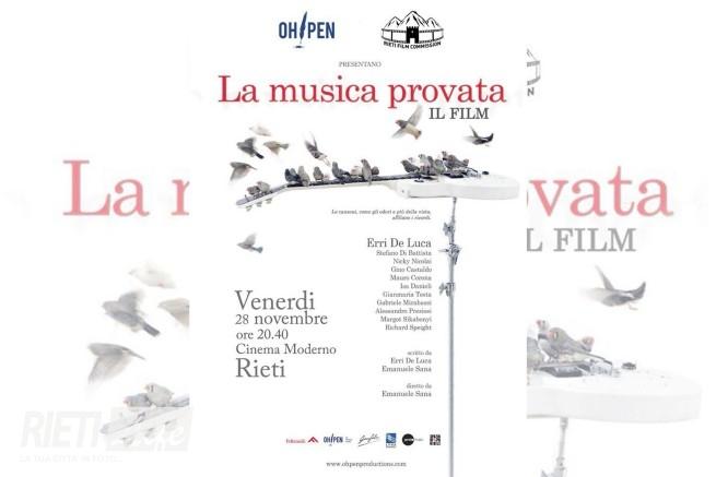 """Erri De Luca e la sua """"musica provata"""" debuttano a Rieti"""