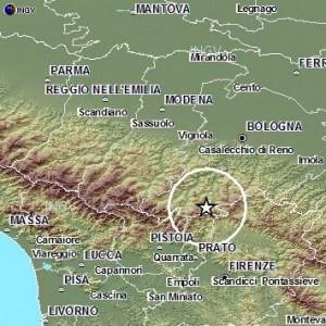 Sciame sismico sull'Appennino Bolognese