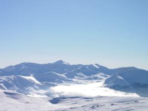 Il Monte Velino dall'Ocre