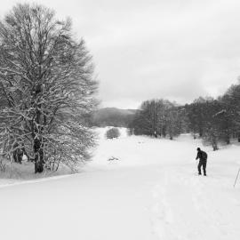 Impressioni d'inverno sul Campo Lungo, nel Parco d'Abruzzo