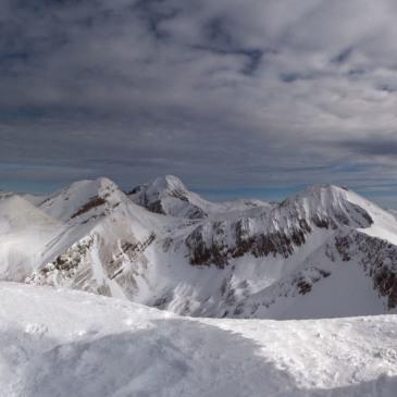 Panoramica della Catena Occidentale del Gran Sasso (A. Sansoni)