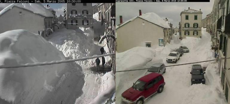 Capracotta: si scioglie la neve mediatica