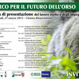 Il Parco Nazionale d'Abruzzo, Lazio e Molise per il futuro dell'Orso