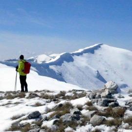 Sci-escursionismo sotto l'eclissi