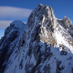 Marsicani, monte Petroso cresta anticima sud