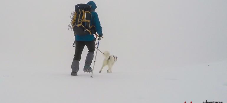 E fu inverno sul monte Camicia, un video di Luigi Nespeca