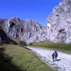 Nei canyon di Campo Imperatore