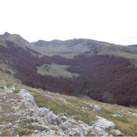 La lunga cresta del Puzzillo
