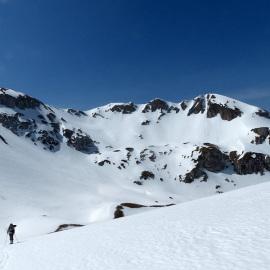 Aquila e Portella con gli sci