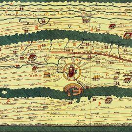 Le antiche mappe stradali