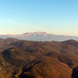 Un balcone sull'Alto Lazio, il monte Cosce
