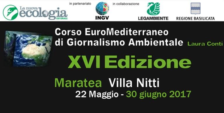 Il corso di giornalismo ambientale Laura Conti si sposta in Basilicata.  Aperte le iscrizioni alla XVI edizione