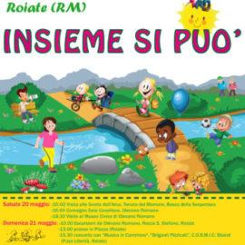 """A Roiate la IV edizione di """"Insieme si può"""",  all'insegna di  un escursionismo possibile  per tutti"""