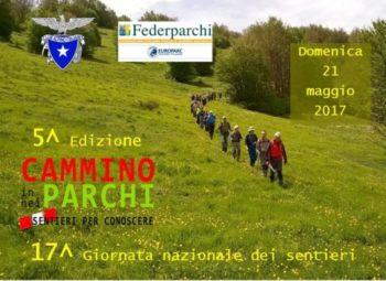"""Iniziative in tutta Italia per """"In cammino nei Parchi"""" e """"Giornata Nazionale dei sentieri CAI"""""""
