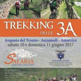 In partenza il trekking delle 3A, attraverso i luoghi dell'Appennino terremotato