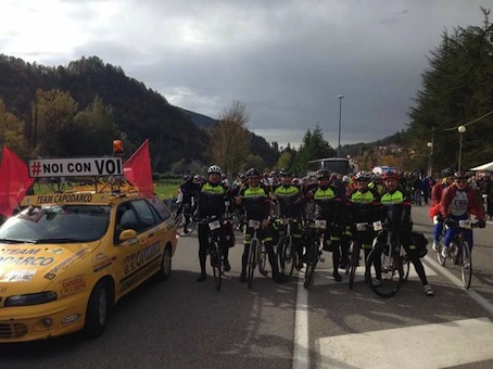 """""""Noi con Voi"""". Torna la pedalata solidale con le vittime del terremoto"""