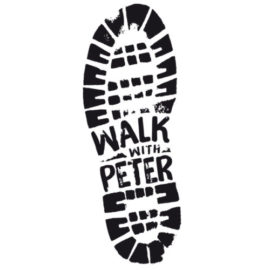"""In partenza """"walk with Peter"""", 400 km a piedi per i paesi terremotati"""