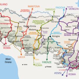 Tutti i cammini dell'Emilia Romagna in un unico sito
