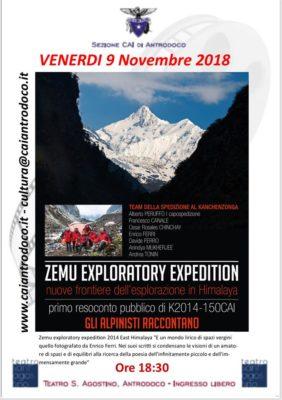 Il Kanchenzonga ad Antrodoco, nel film della Zemu Expedition
