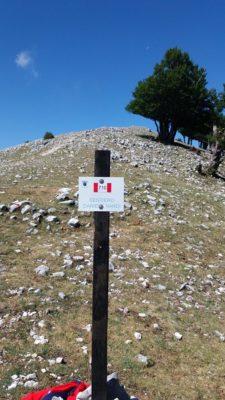 Monte Semprevisa: riposizionate le targhe del sentiero dedicato a Daniele Nardi