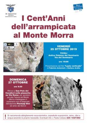 100 anni fa, la prima salita al Morra. Tivoli ricorda Enrico Jannetta