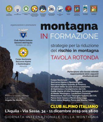 A L'Aquila si parla di sicurezza per la Giornata Internazionale della Montagna